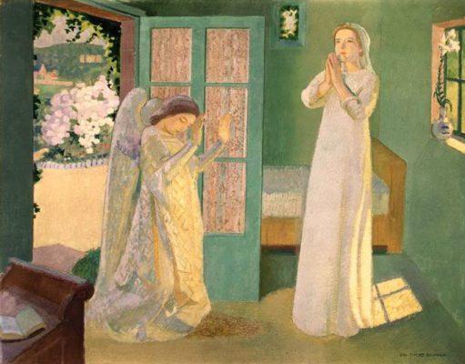Морис Дени.Благовещение.1912